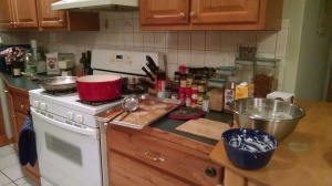 The other side of the kitchen.