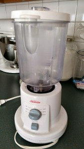 Blender - circa late 1990s. It still works!
