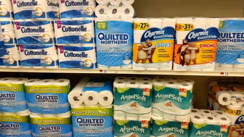 Shopping for toilet paper is confusing these days.